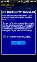 Screenshot of Blockbuster 2.7 for HTC