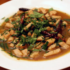 Stir-Fried Pork with Chives and Chiles