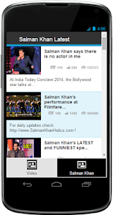 Salman Khan's Latest - screenshot