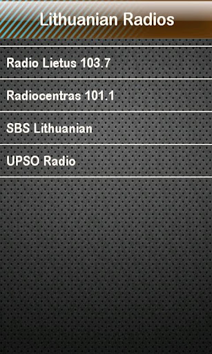 Lithuanian Radio Radios