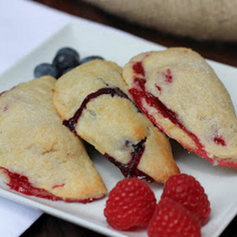 Rustic Berry Turnovers~