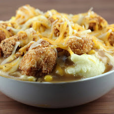 Chicken Mashed Potato Bowl