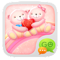 Free GO SMS Pro Bear Lovers Theme APK for Windows 8