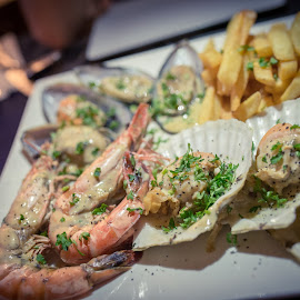 Seafood Platter by Edvin Lam - Food & Drink Eating