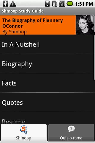 Flannery O'Connor: Shmoop