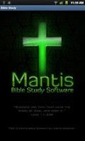 Screenshot of Mantis Bible Study