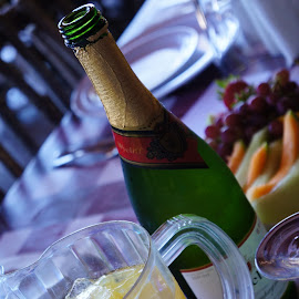 Champagne Brunch by David Cummings - Food & Drink Alcohol & Drinks ( champagne, breakfast, brunch, orange juice )