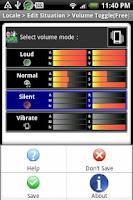Screenshot of Locale Volume Toggle(P Plug-in