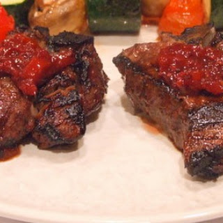 Lamb Chops with Blackberry- Habanero Glaze