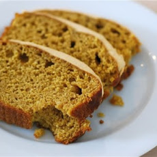 Pumpkin Spice Loaf with Cream Cheese Frosting
