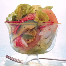 Lobster Salad with Grapefruit, Avocado, and Hearts of Palm