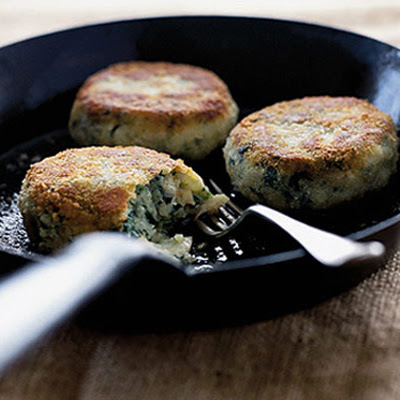 Smoked Haddock, Spinach & Potato Cakes