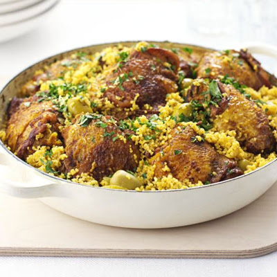 Chicken & Couscous One-pot