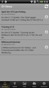 SV Detter - screenshot