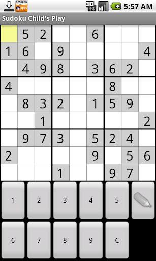 Sudoku Childs Play