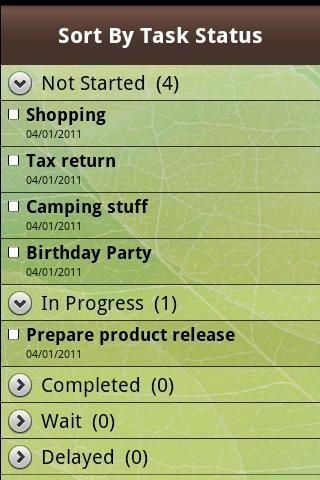 e-Mobile Task Outlook Sync