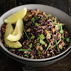 Cumin-Scented Quinoa and Black Rice