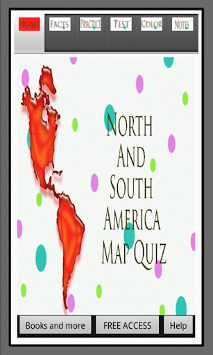 North South America Map Quiz