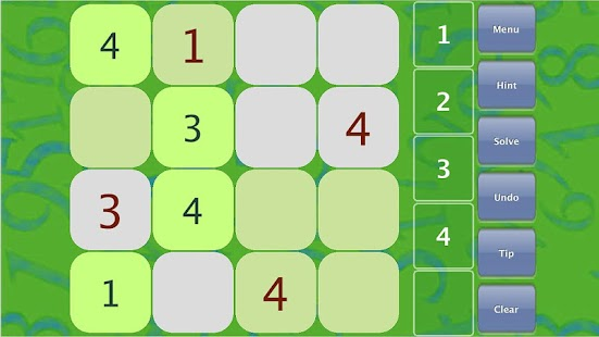 Sudoku Kid Lite - screenshot