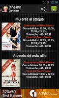 Screenshot of Cines de Bahía Blanca