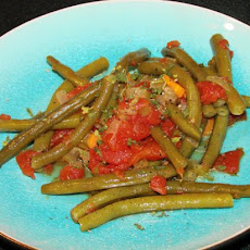 Braised Green Beans With Tomatoes