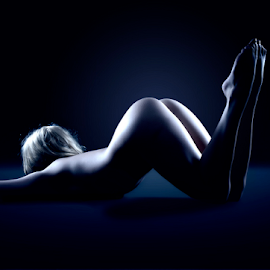 Girl in blue by Mike Irschick - Nudes & Boudoir Artistic Nude