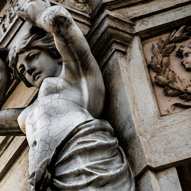 nude woman by Alexandra Ale - Buildings & Architecture Statues & Monuments ( statues, artitectural details )