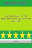 Screenshot of Fun Luck Meter