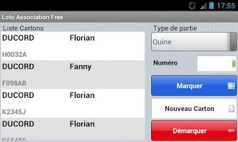 Screenshot of Loto Association Free