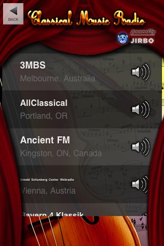 classical-radio for android screenshot