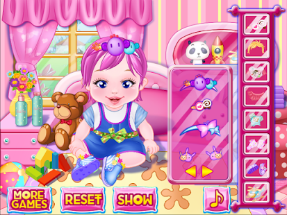 Cute baby girls games- screenshot thumbnail