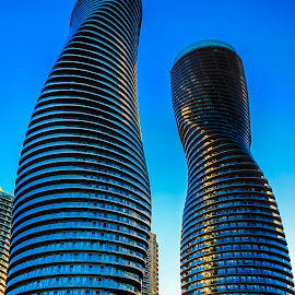 The Marilyn Monroe Towers by Vanko Dimitrov - Buildings & Architecture Office Buildings & Hotels ( architechture, buildings, mississauga )