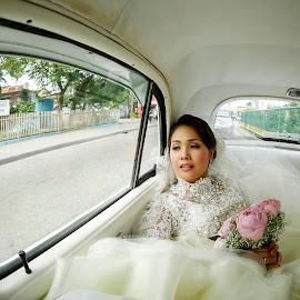 Retro white by Kenneth Hao - Wedding Bride ( kennethhao )