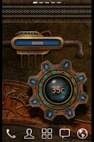 Screenshot of Steampunk Time Live Wallpaper