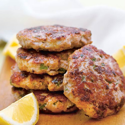 Turkey Burgers with Lemon