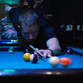 Pool by Kenny Sears - Sports & Fitness Cue sports ( billiards, person, pool, 8ball, shooting )