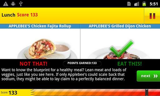 【免費健康App】The Eat This, Not That! Game-APP點子