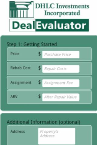 DealEvaluator - By DHLC