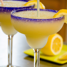 Liquid Sunshine by Beth Thomander - Food & Drink Alcohol & Drinks ( tequila, margarita, yellow, summertime, frozen, slush, lemon,  )