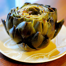 Roasted Artichokes with Lemon & Garlic