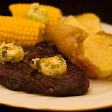 Marinated Steaks With a Tangy Butter