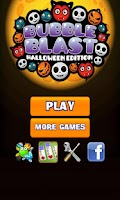 Screenshot of Bubble Blast Halloween