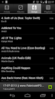 Screenshot of AOSP Music+