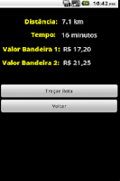 Screenshot of Taximetro Pro