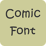 Comic Font for Samsung Galaxy 1.0 Apk