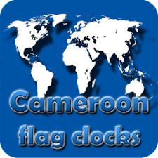 Cameroon flag clocks