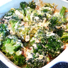 Cheesy Broccoli Casserole (Low Carb)