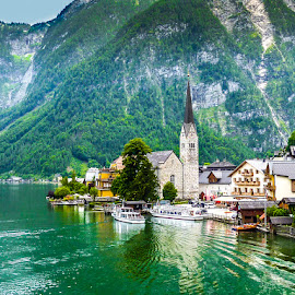 Hallstadt by Mihai Popa - Landscapes Waterscapes ( hallstatt, austria,  )