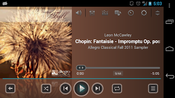 Screenshot of jetAudio Music Player Plus