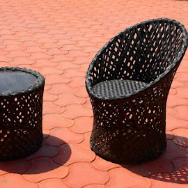 Welcome by Sanjeev Goyal - Artistic Objects Furniture ( chair, lawn, stylish, airy, table,  )